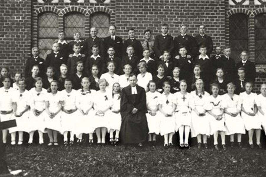 Komfirmacijos šventė 1938
