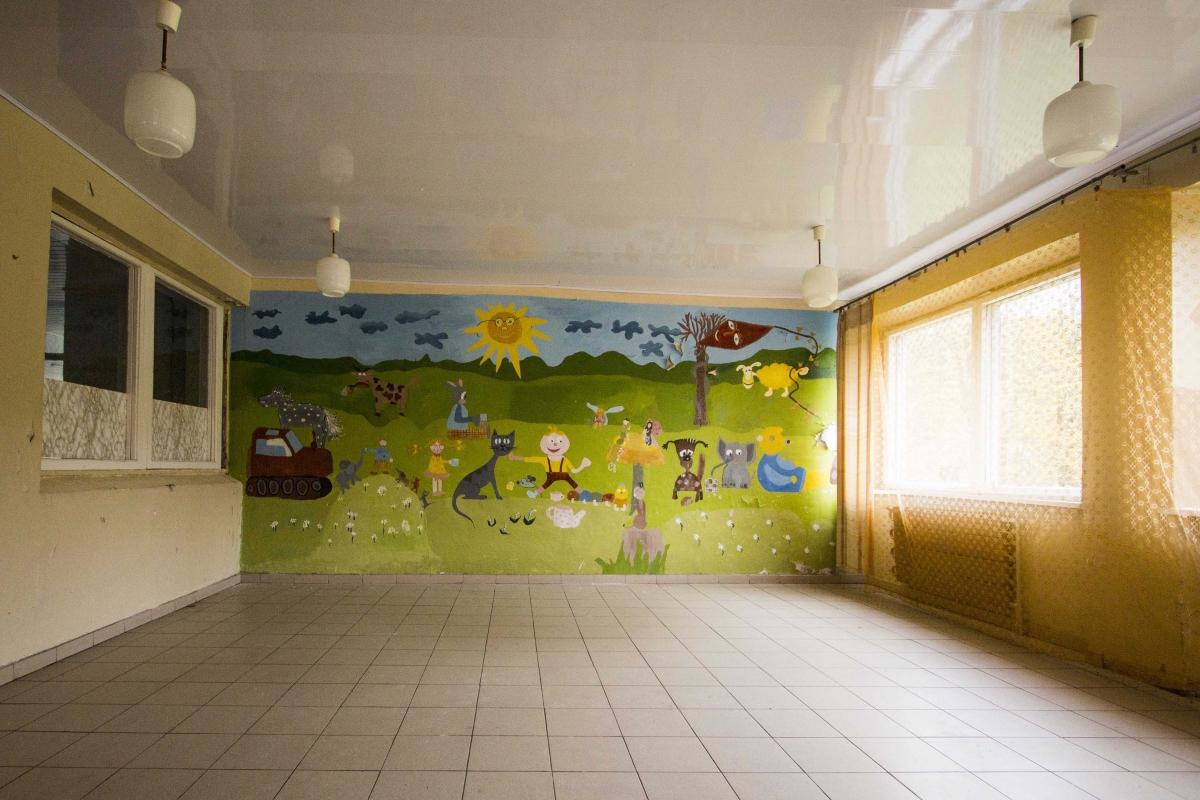 Piešinys ant sienos