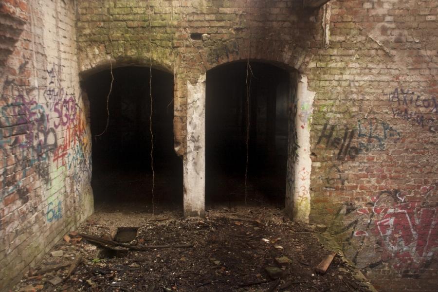 Įėjimas į saugyklą