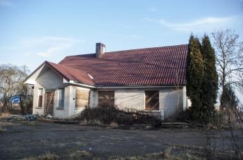 Apleistas namas Dreižiuose