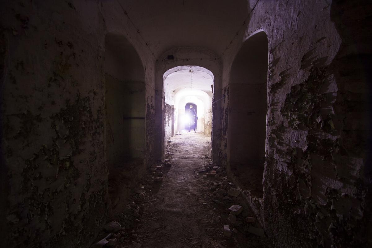 Skliautuotas koridorius