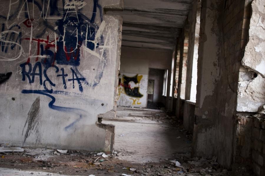 Patalpas jungia koridorius