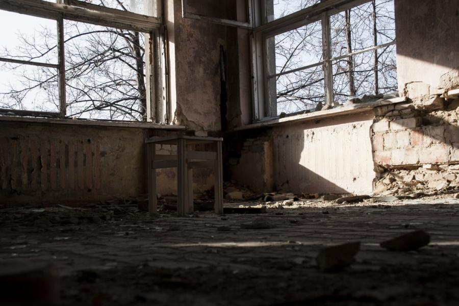 Kėdė antrame aukšte