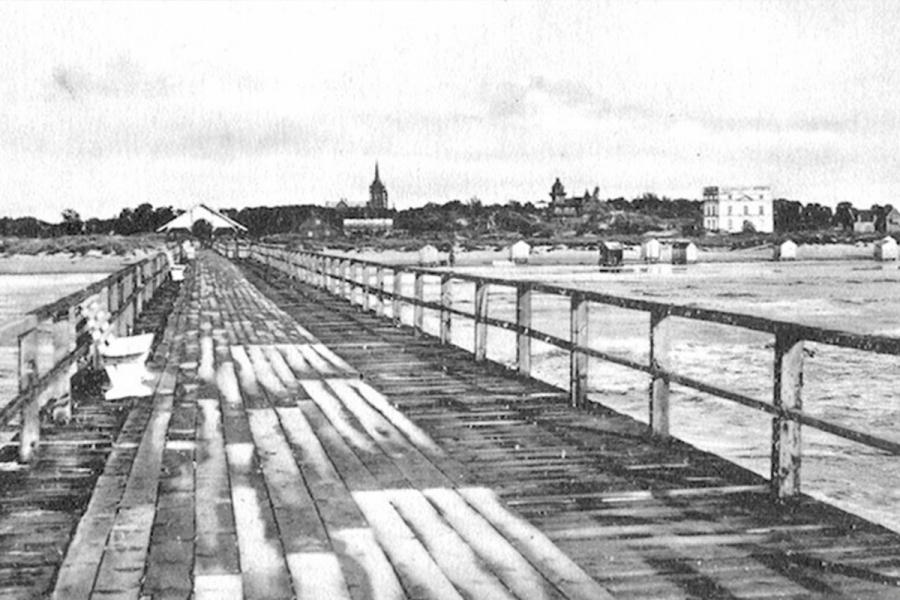 Vila matosi nuo Palangos tilto