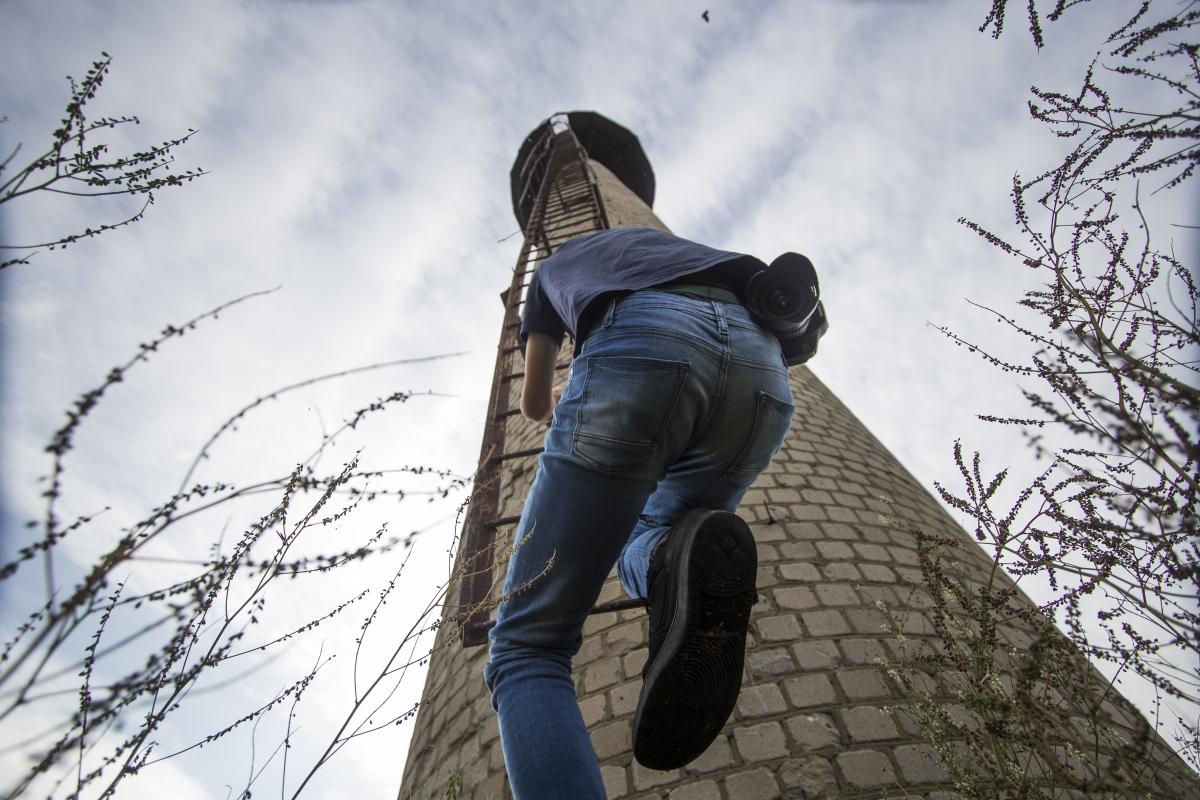 Lipimas į bokštą