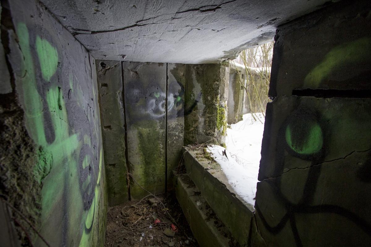 Šaudmenų saugyklos vidus