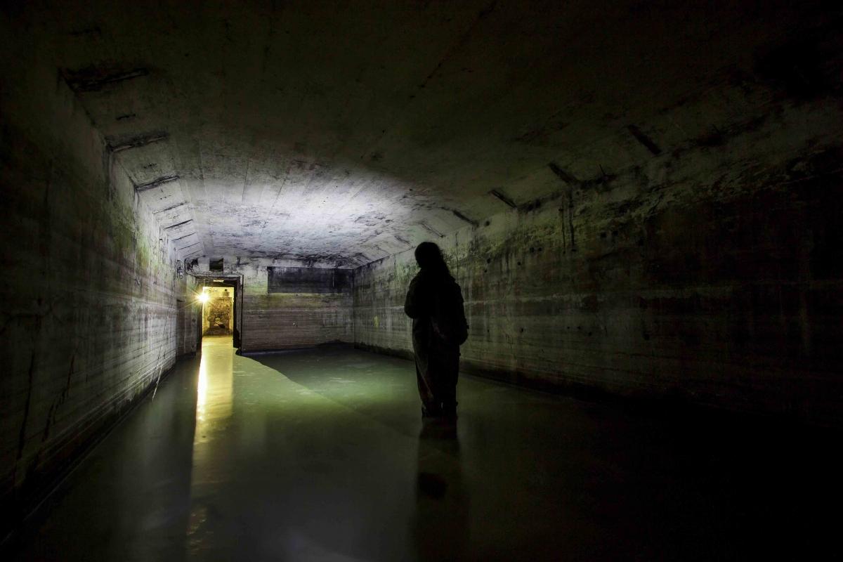 Užsemtas bunkeris