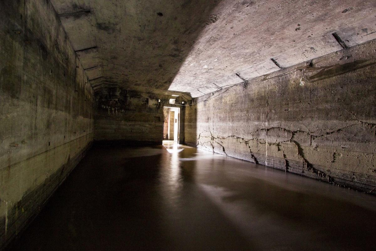 Užlietas bunkeris