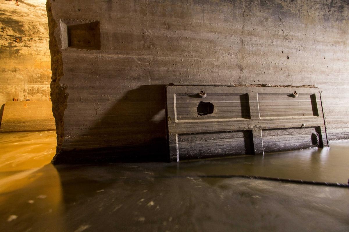 Bunkerio durys