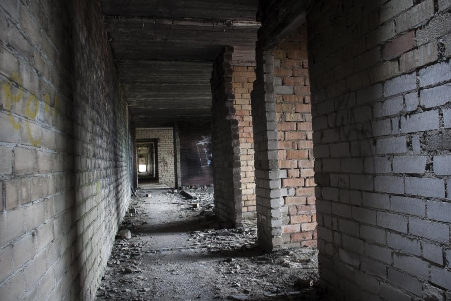 Koridorius antrame aukšte