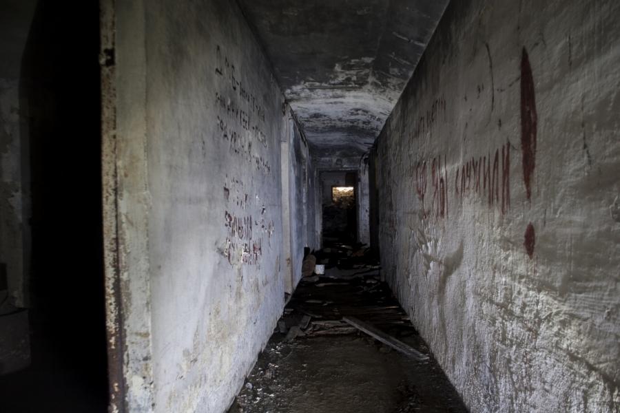 Standhalle pagrindinis koridorius