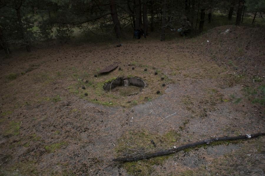 Beterijos išlikusi platforma