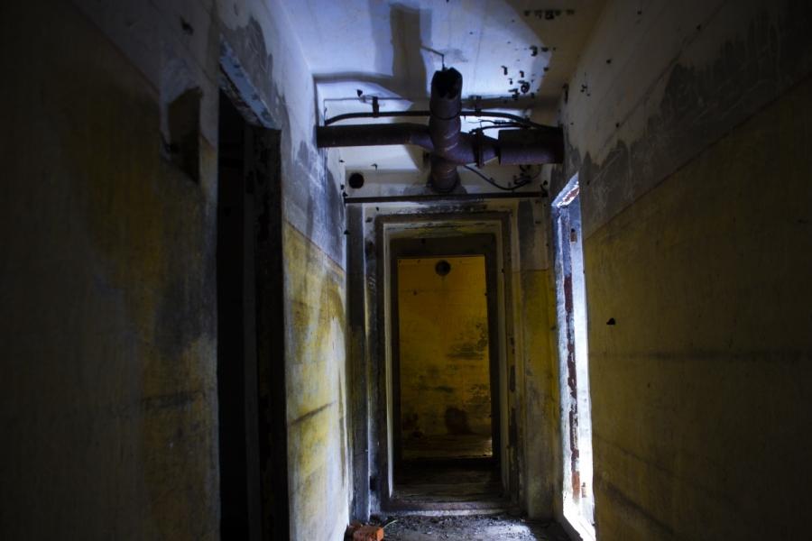 Koridorius prie kazemato