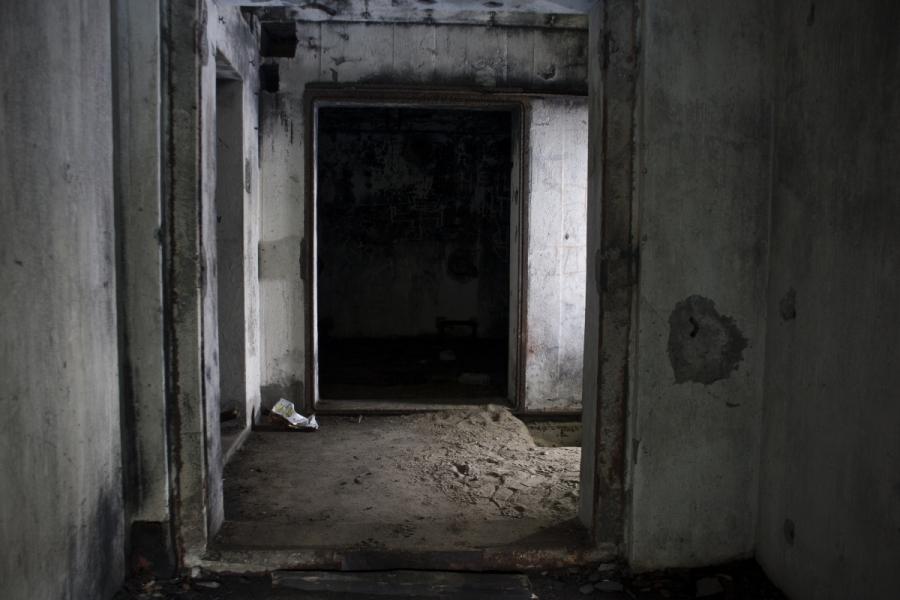 Kazematų durys buvo slankiojančios konstrukcijos