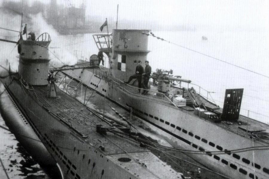 U34 mokomieji povandeniniai laivai
