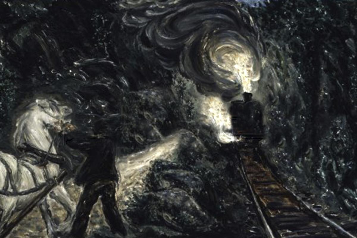 Geležinkelio tunelis no