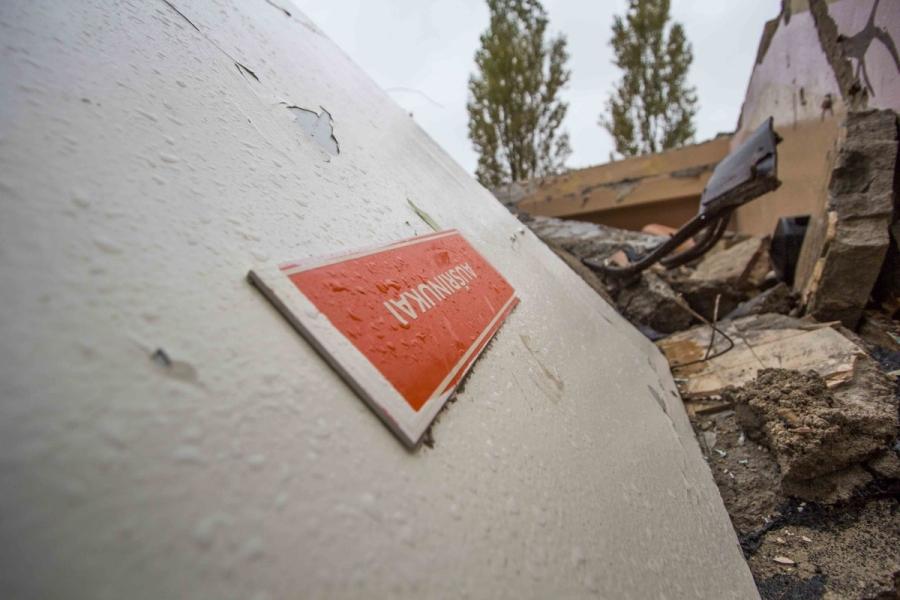 Aušrinės darželis nugriautas