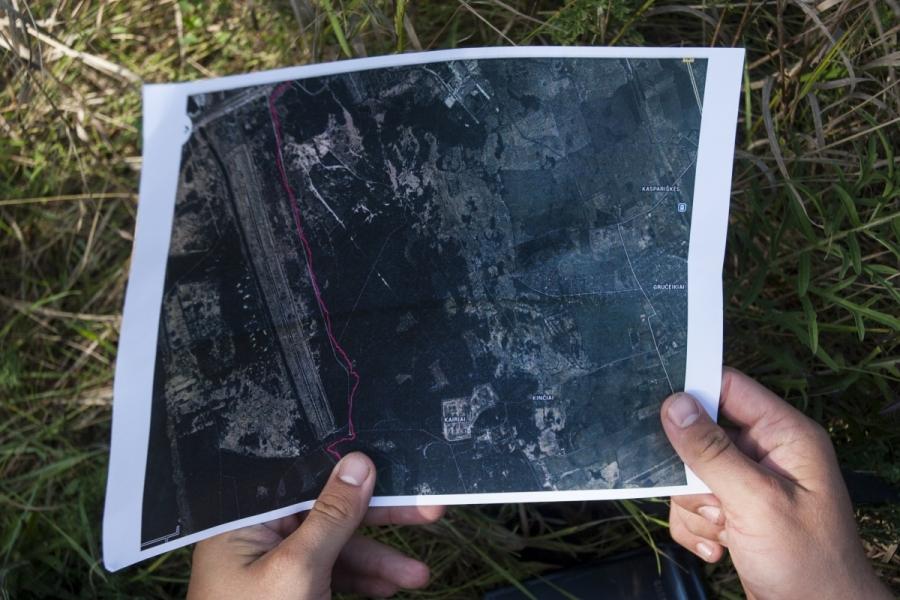 Teritorijos žemėlapis