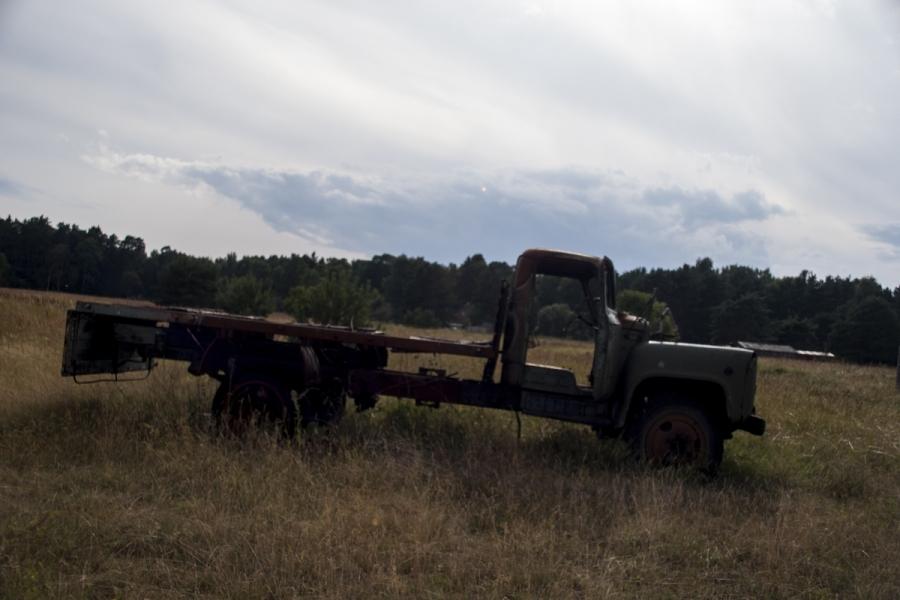 Dar vienas sunkvežimis