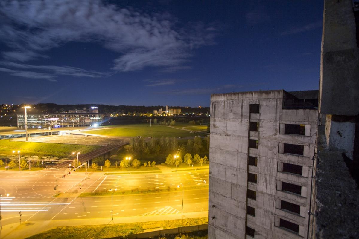 Vaizdas nuo stogo