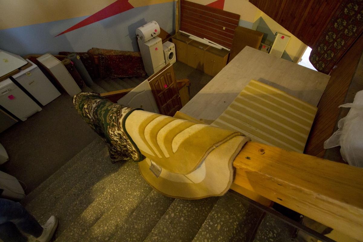 Kino teatro laiptai