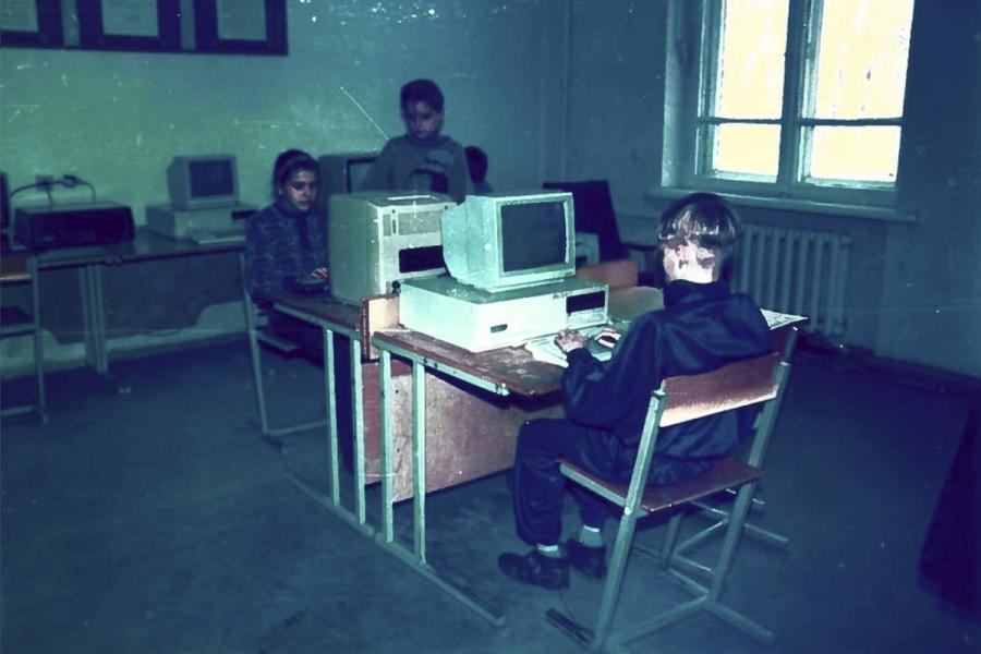 Sena nuotrauka 1994-ieji