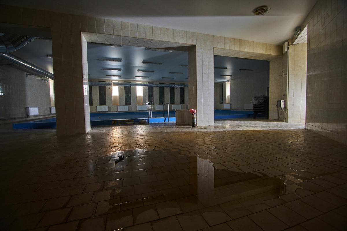 Tuščias baseinas