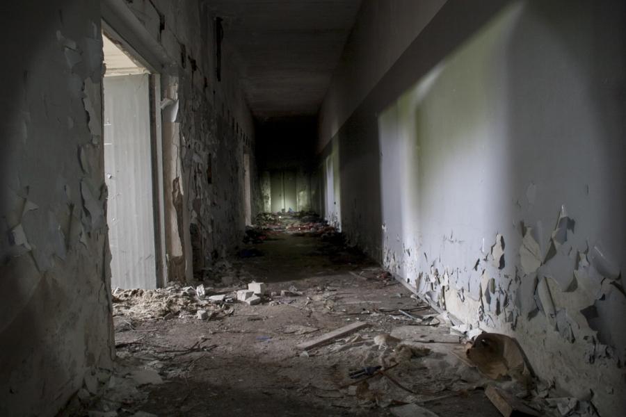 Trečiojo aukšto koridorius