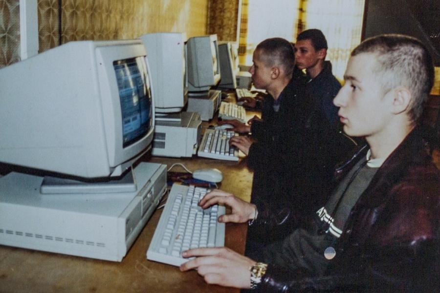 Sena nuotrauka. 1999 metai.