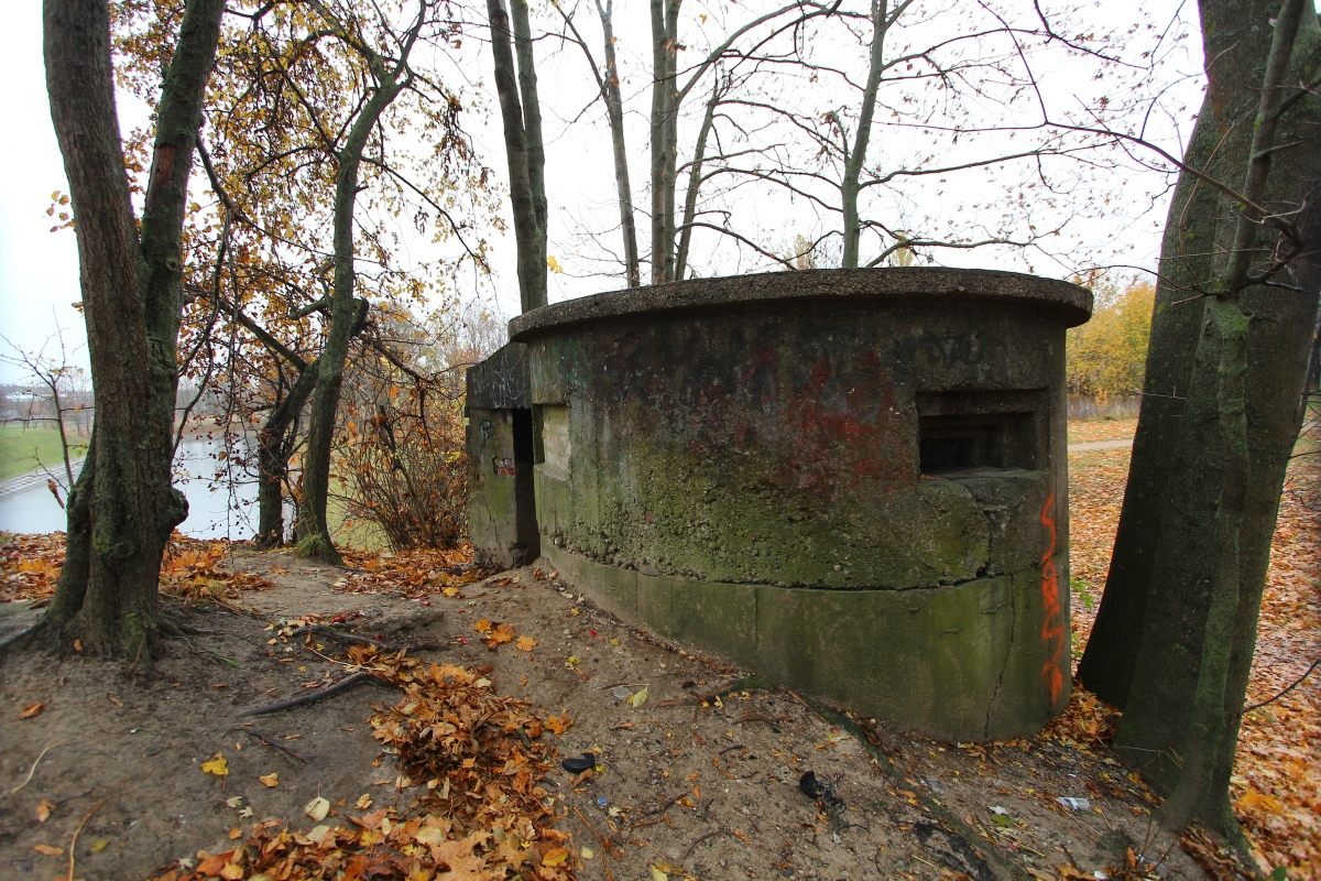 Bastionų slėptuvės postas bendras planas