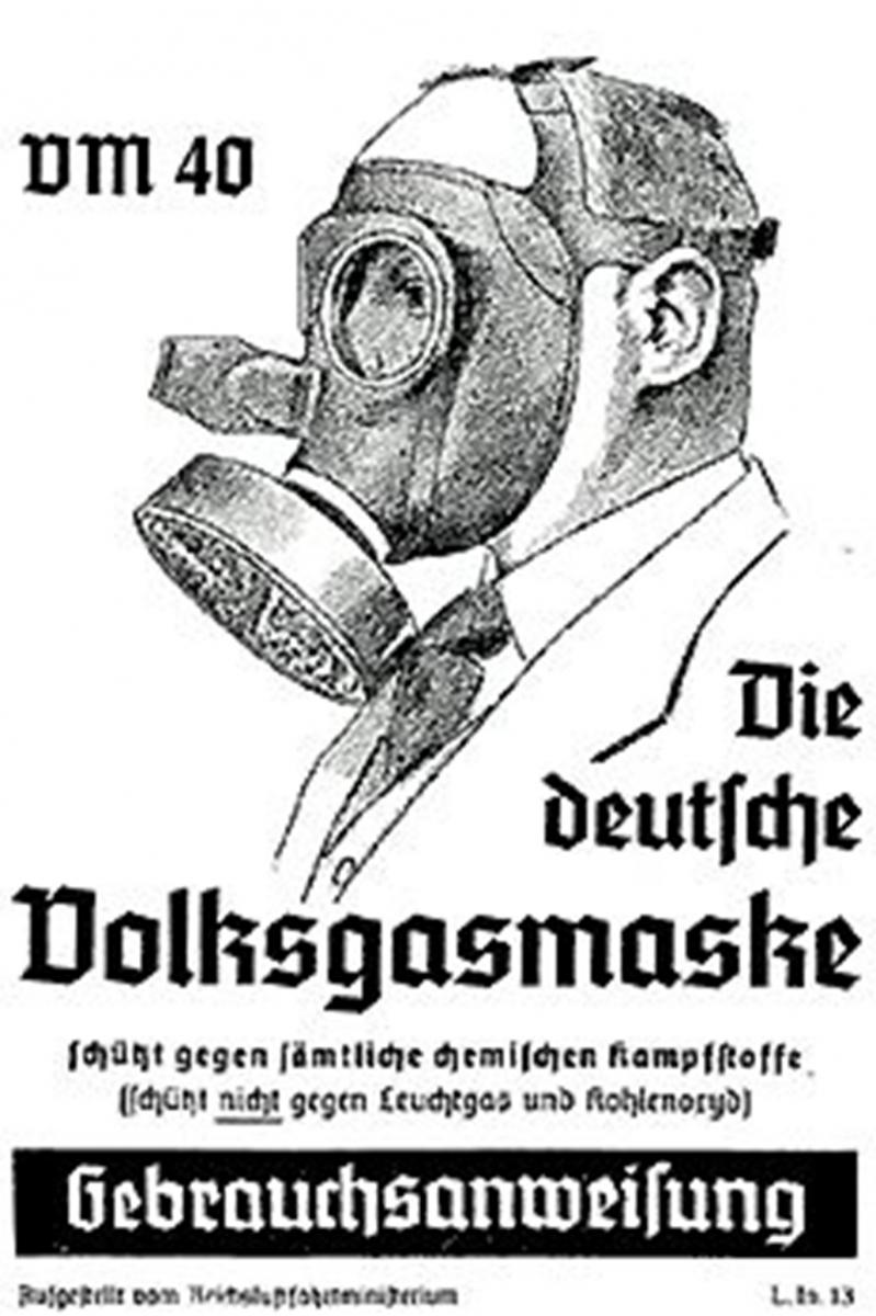 Vokiška dujokaukė
