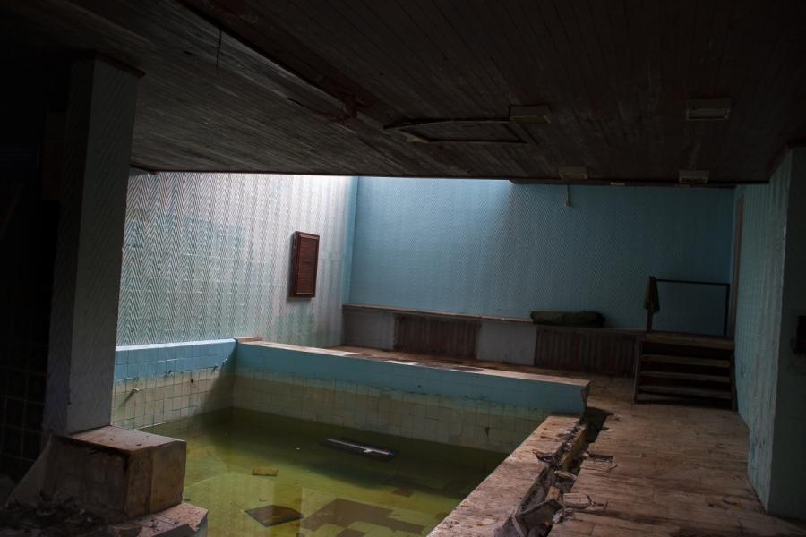 Sauna su baseinu