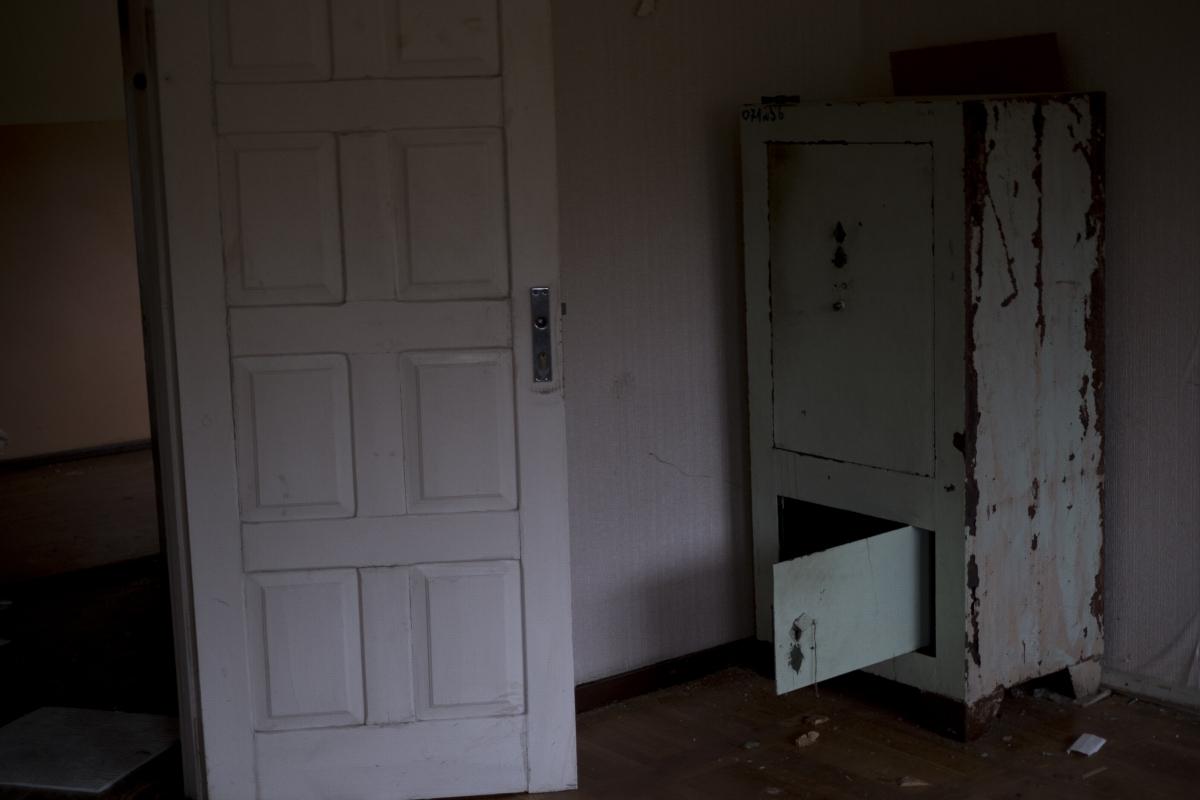 Tuščias seifas