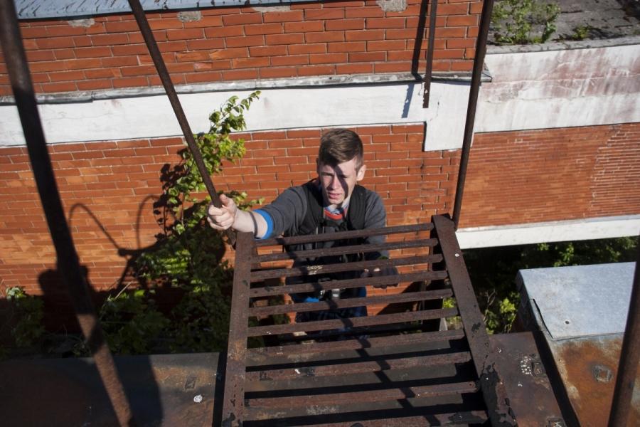 Lipimas ant stogo