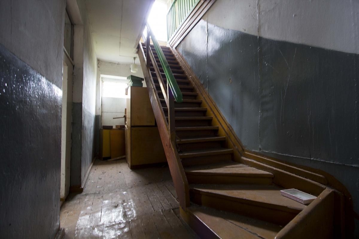 Mokyklos laiptai