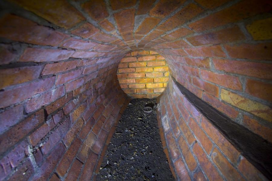 Užmūrytas tunelis