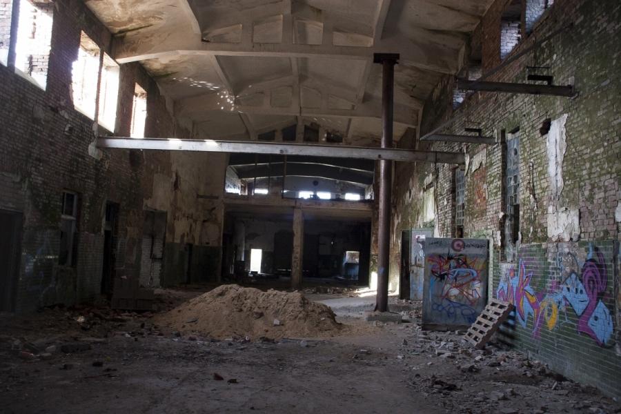 Pagrindinė skerdyklos patalpa