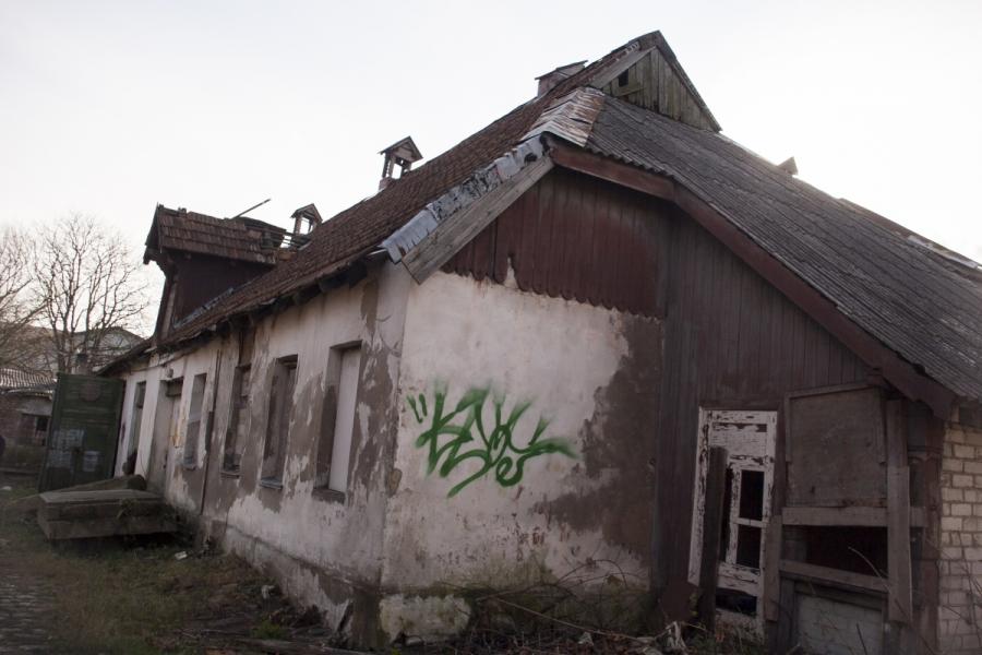 Buvusios skerdyklos dirbtuvės