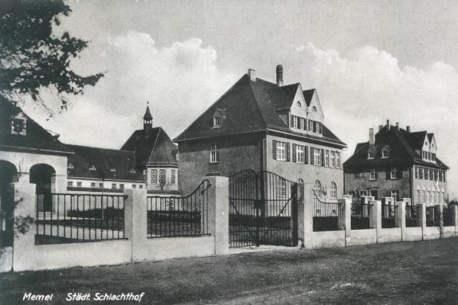 Skerdyklos sena nuotrauka