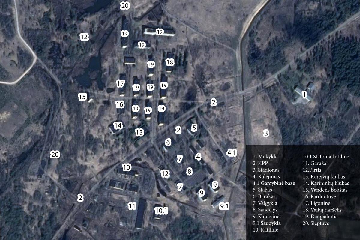 Skrundos žemėlapis