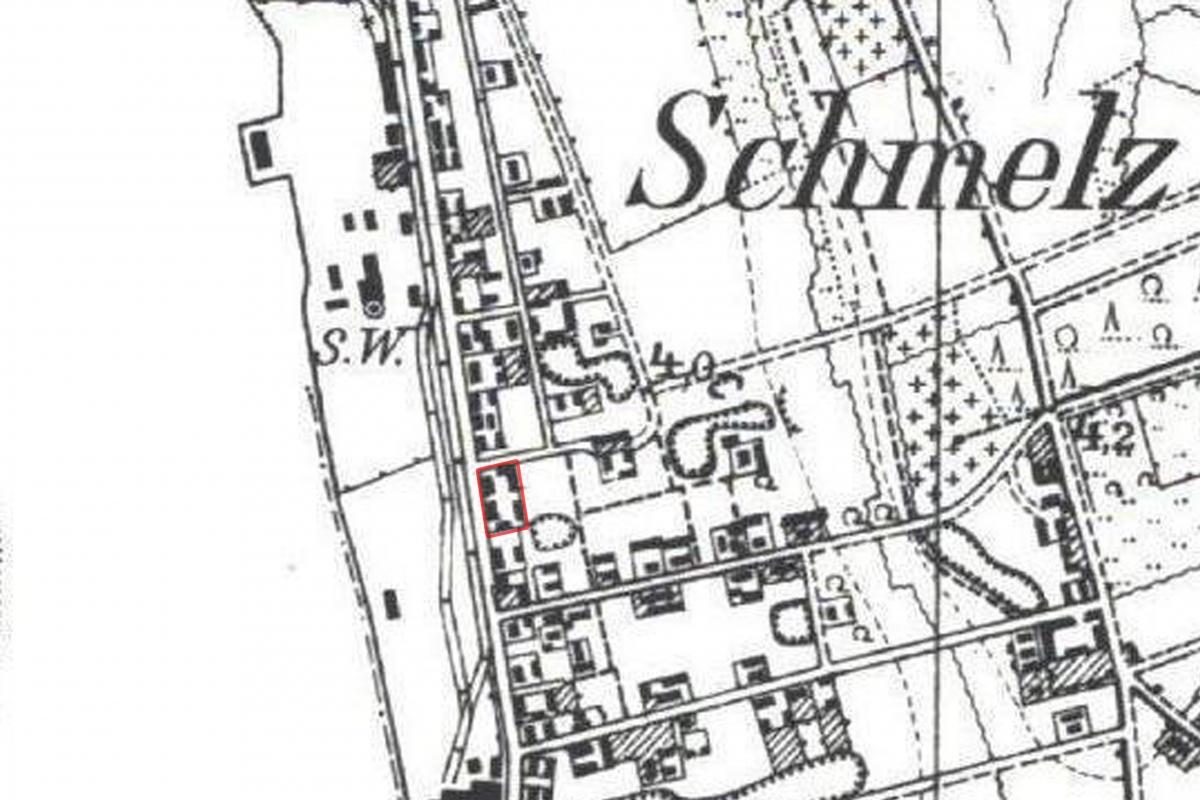 Smeltės mokyklos žemėlapis