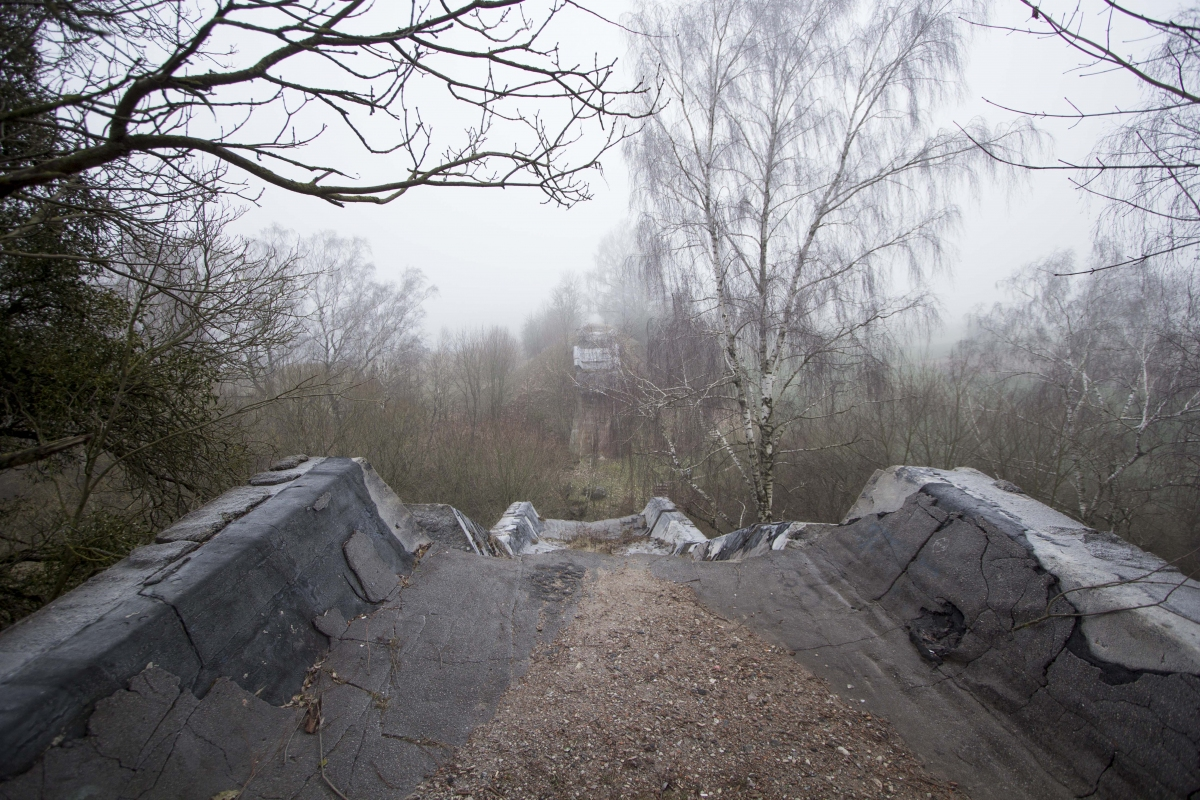 Krukliankų tilto griuvėsiai