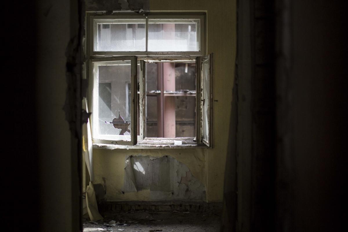 Išdaužyti langai
