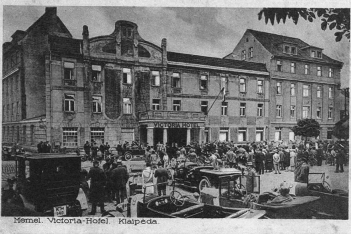 """Viešbutis """"Victoria"""", 1924 m."""