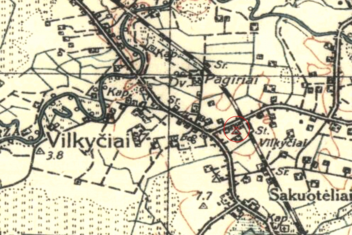Vilkyčiai 1938